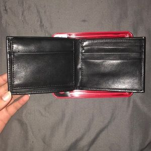 Weatherproof Bags - Black Leather Wallet - Weatherproof